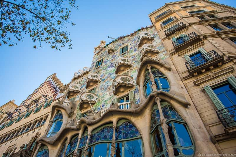 Casa Batlló guide to Gaudí sites in Barcelona Spain