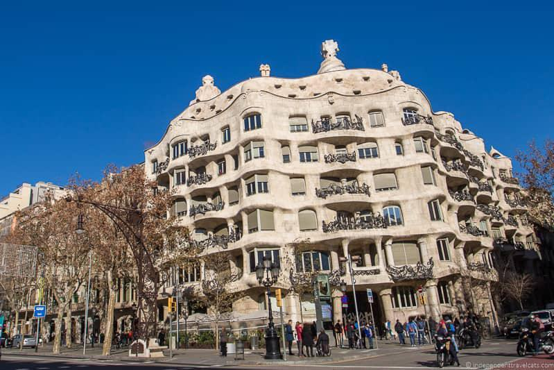 Casa Milá La Pedrera buying The Barcelona Pass tips advice worth it