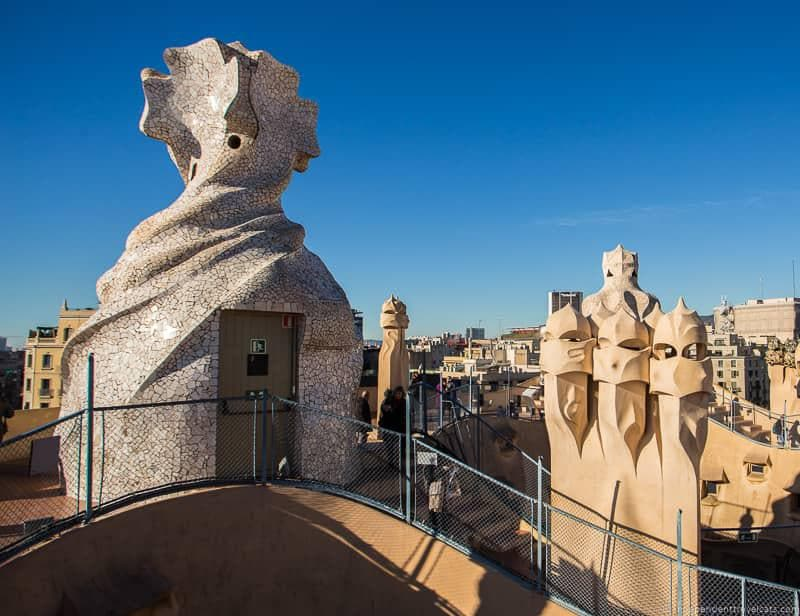 Casa Milá La Pedrera guide to Gaudí sites in Barcelona Spain