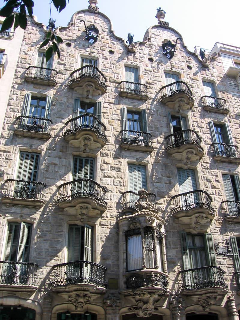 Casa Calvet guide to Gaudí sites in Barcelona Spain