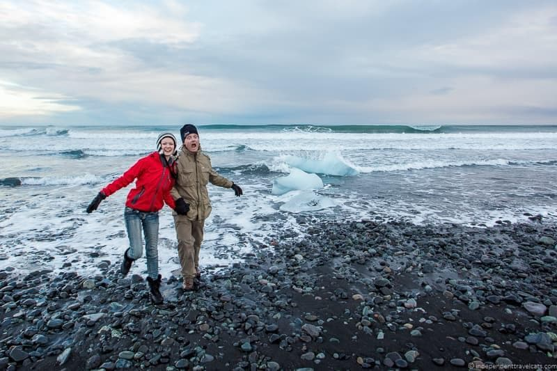 Diamond beach 7 day Iceland itinerary by car one week road trip