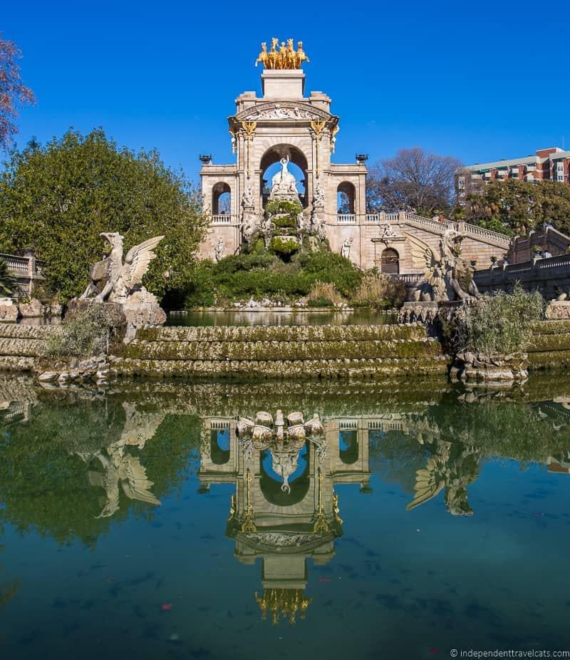 Complete guide to over 20 gaud sites in barcelona spain for Barcelona jardin gaudi