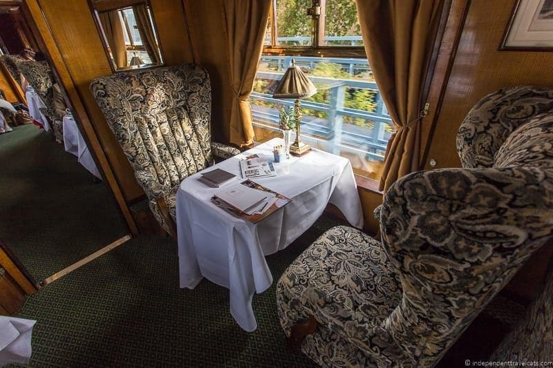Belmond British Pullman train Perseus car carriage