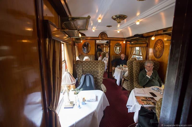 Phoenix carriage train Belmond British Pullman
