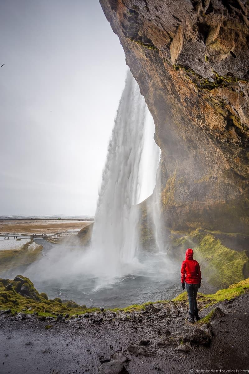 Seljalandsfoss Waterfall 7 day Iceland itinerary by car one week road trip