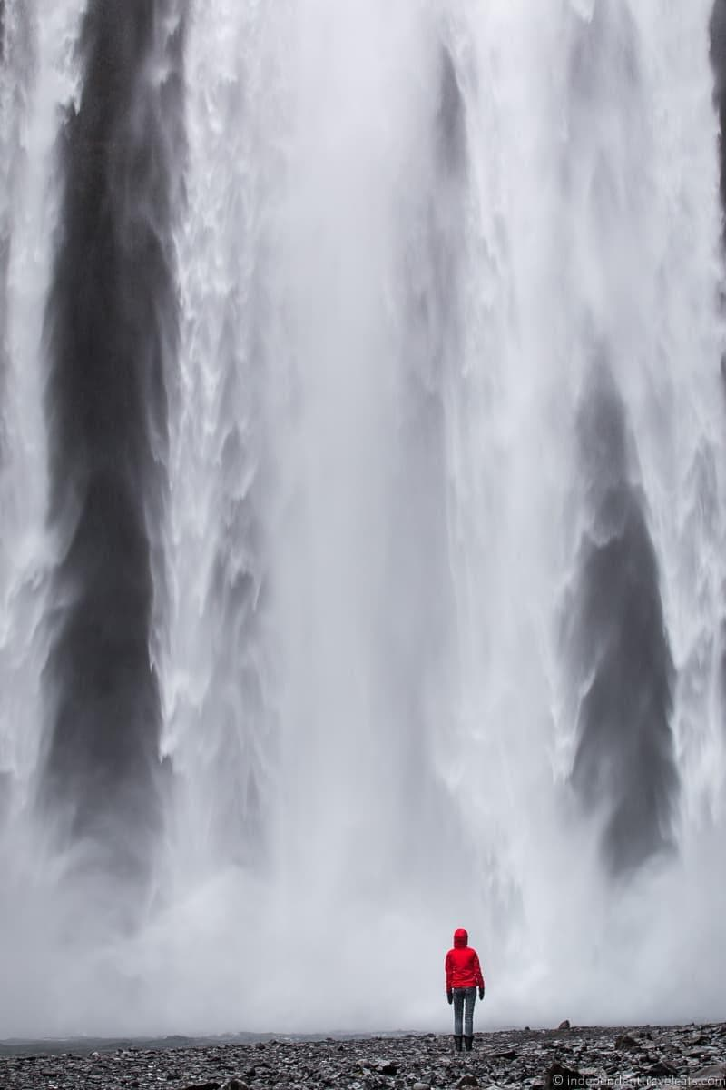 Skogafoss waterfall 7 day Iceland itinerary by car one week road trip