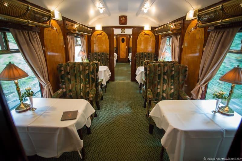 British Pullman train Vera carriage car