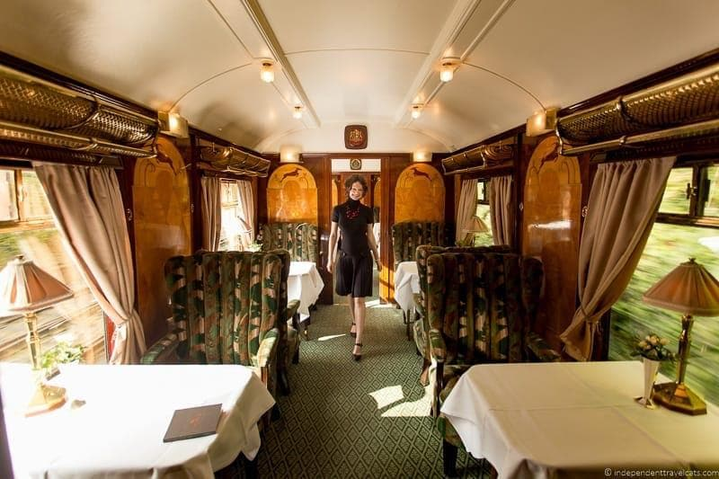 British Pullman train Vera carriage car