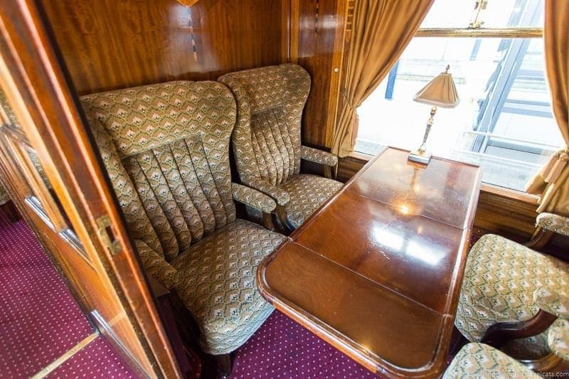 Belmond British Pullman train Zena carriage car