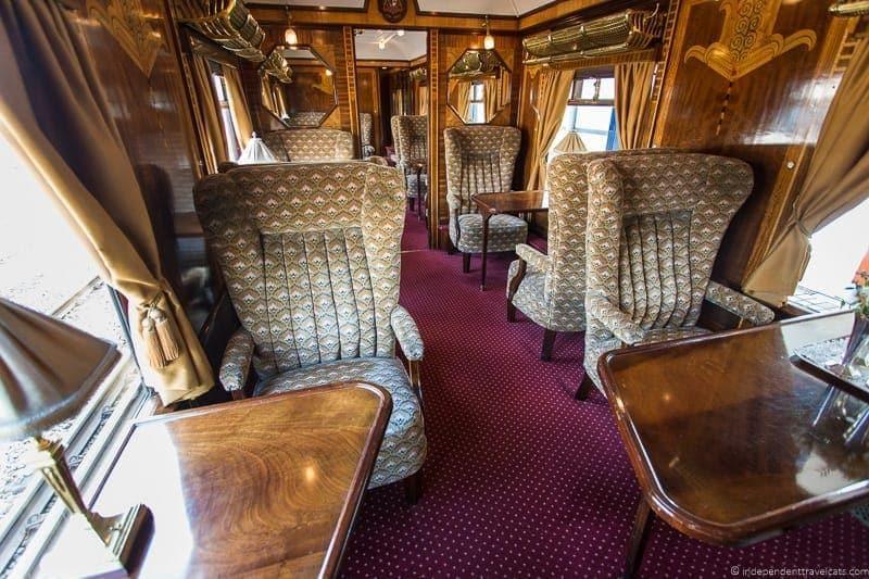 Belmond British Pullman train Zena carriage car