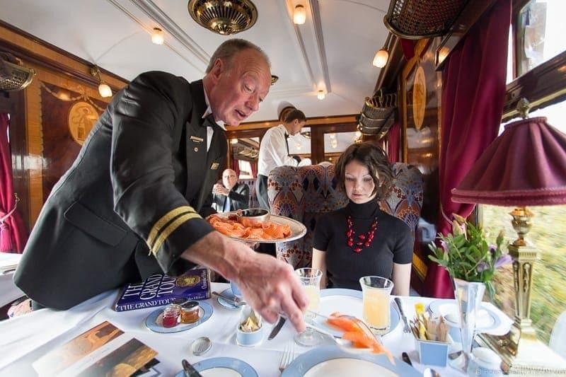 British Pullman Ibis train