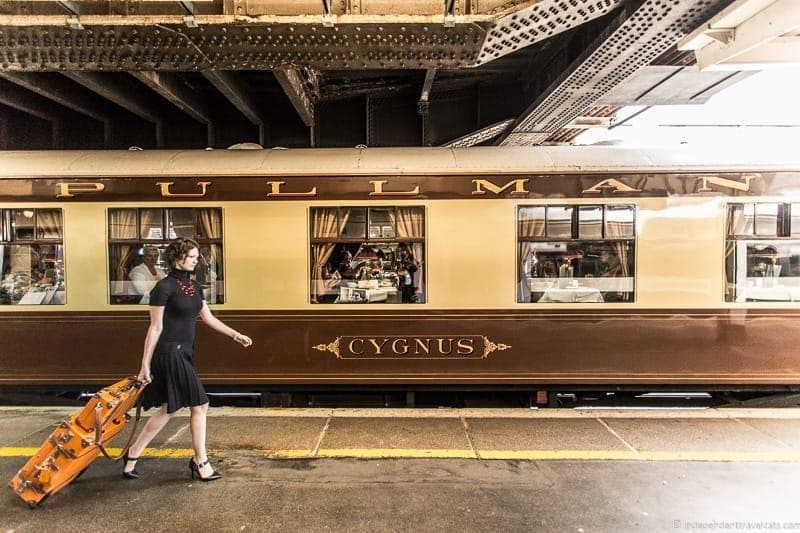 British Pullman train exterior Cygnus