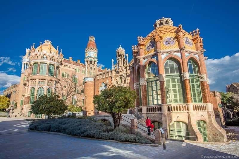 Recinte Modernista Sant Pau Barcelona Card versus Barcelona Pass vs. Articket Museum Pass Barcelona discount cards comparison
