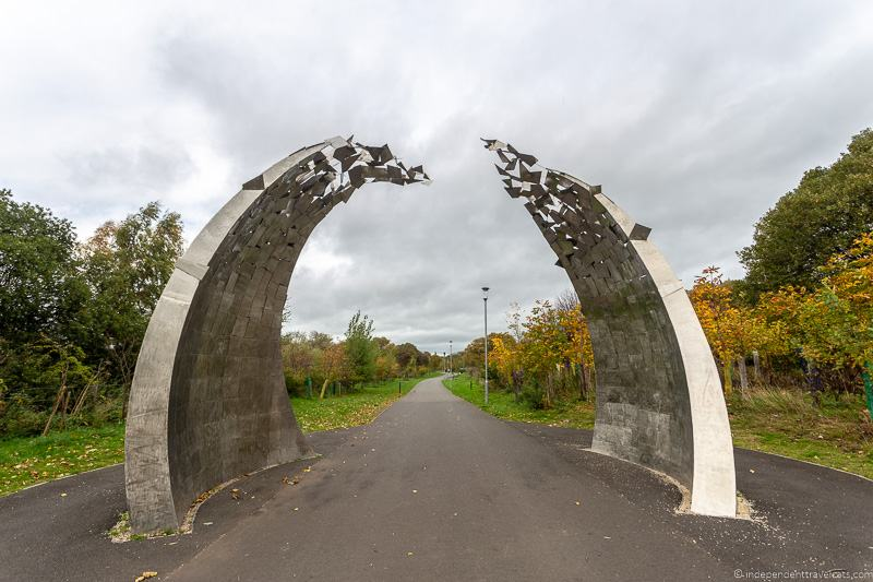 Cuningar Loop park top things to do in Glasgow Scotland