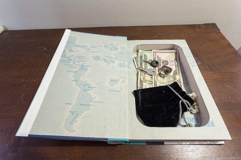 secret safe book Travel Home Decor Handmade Travel Themed Home Decorations