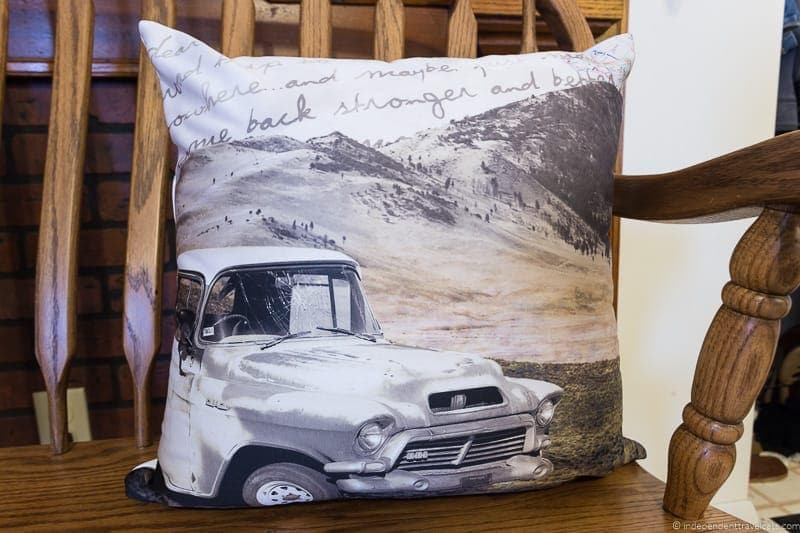 throw pillow Travel Home Decor Handmade Travel Themed Home Decorations