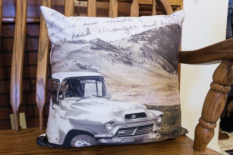 throw pillow Travel Home Decor Handmade Travel Themed Home Decorations