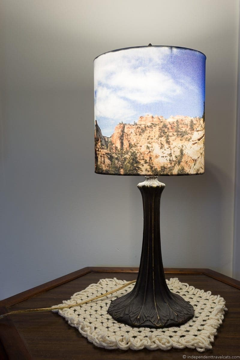 Travel Photo Lampshade Part 73
