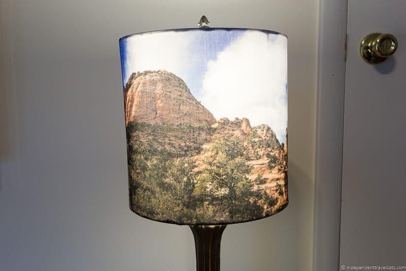 photo lampshade travel home decor handmade travel themed home decorations - Travel Home Decor