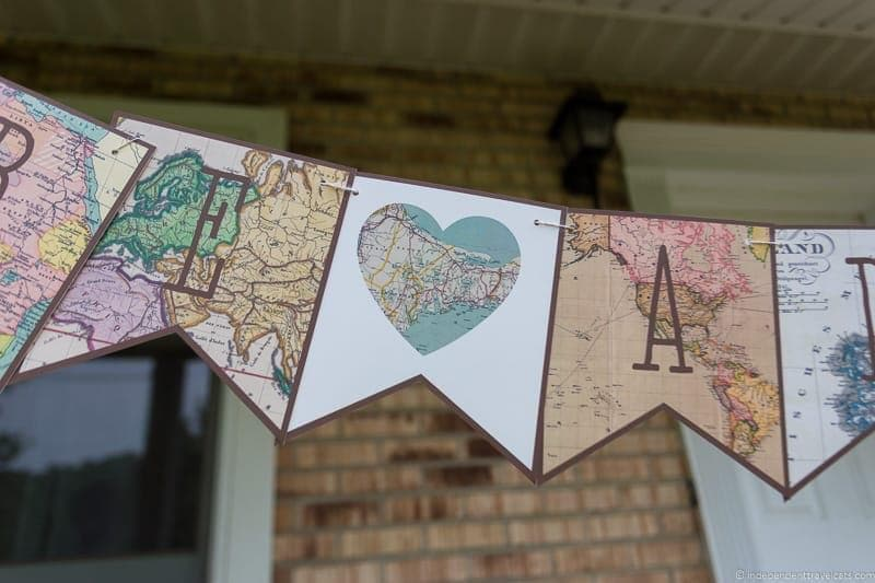 Travel Home Decor: Handmade Travel Themed Home Decorations