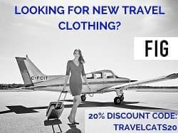 Fig Clothing Independent Travel Cats 20% discount code
