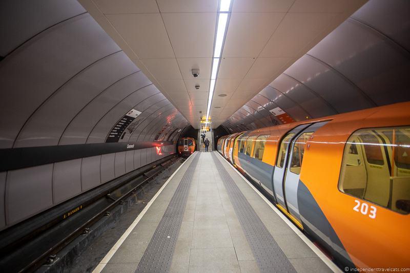 Glasgow Subway things to do in Glasgow Scotland
