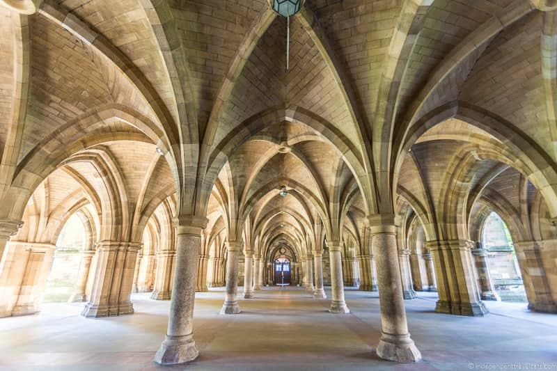 Glasgow cloisters top things to do in Glasgow Scotland attractions