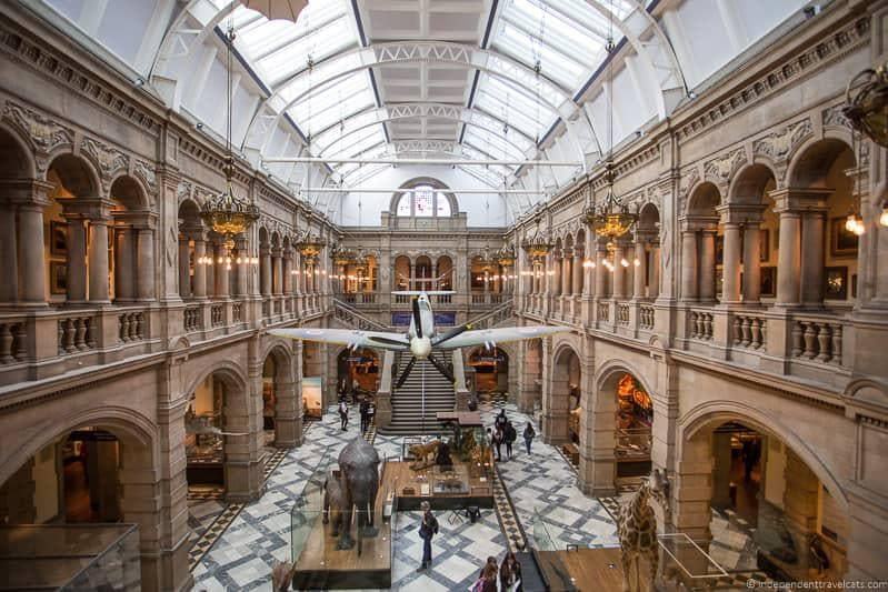 Kelvingrove Art Gallery Museum free museums museum visitor donations
