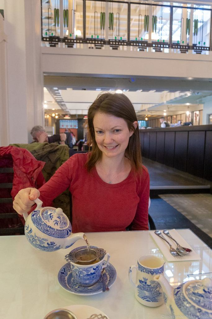 Mackintosh at the Willow tea rooms things to do in Glasgow Scotland
