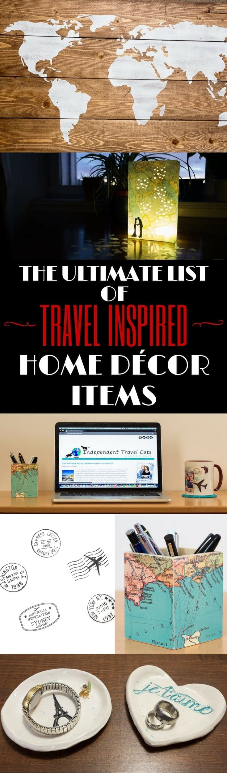 Ultimate List Of Travel Themed Home Decor Items For Every Room Your House Or