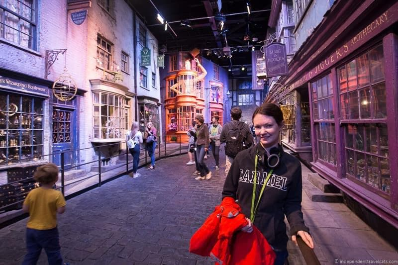 Diagon Alley 6 days in London itinerary