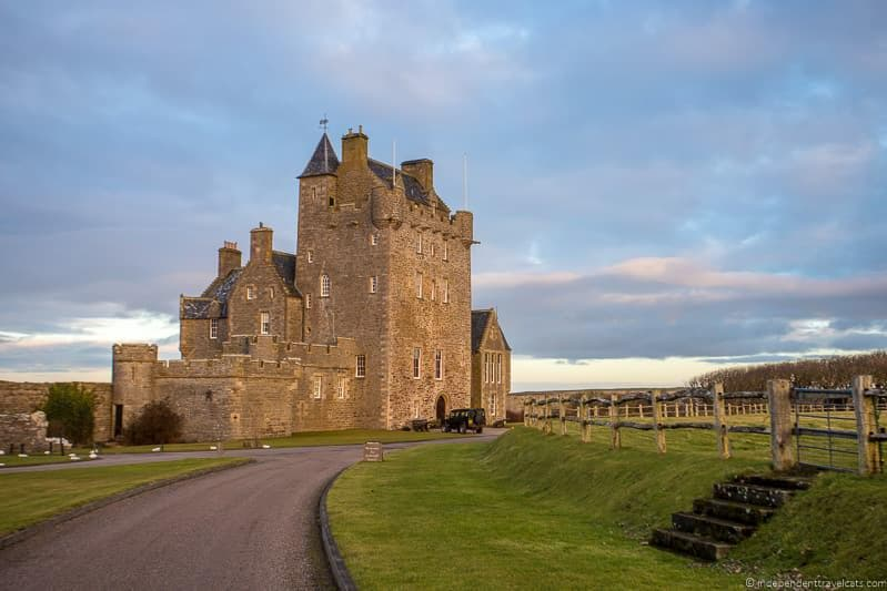 Ackergill Tower North Coast 500 hotels where to stay along NC500 Scotland
