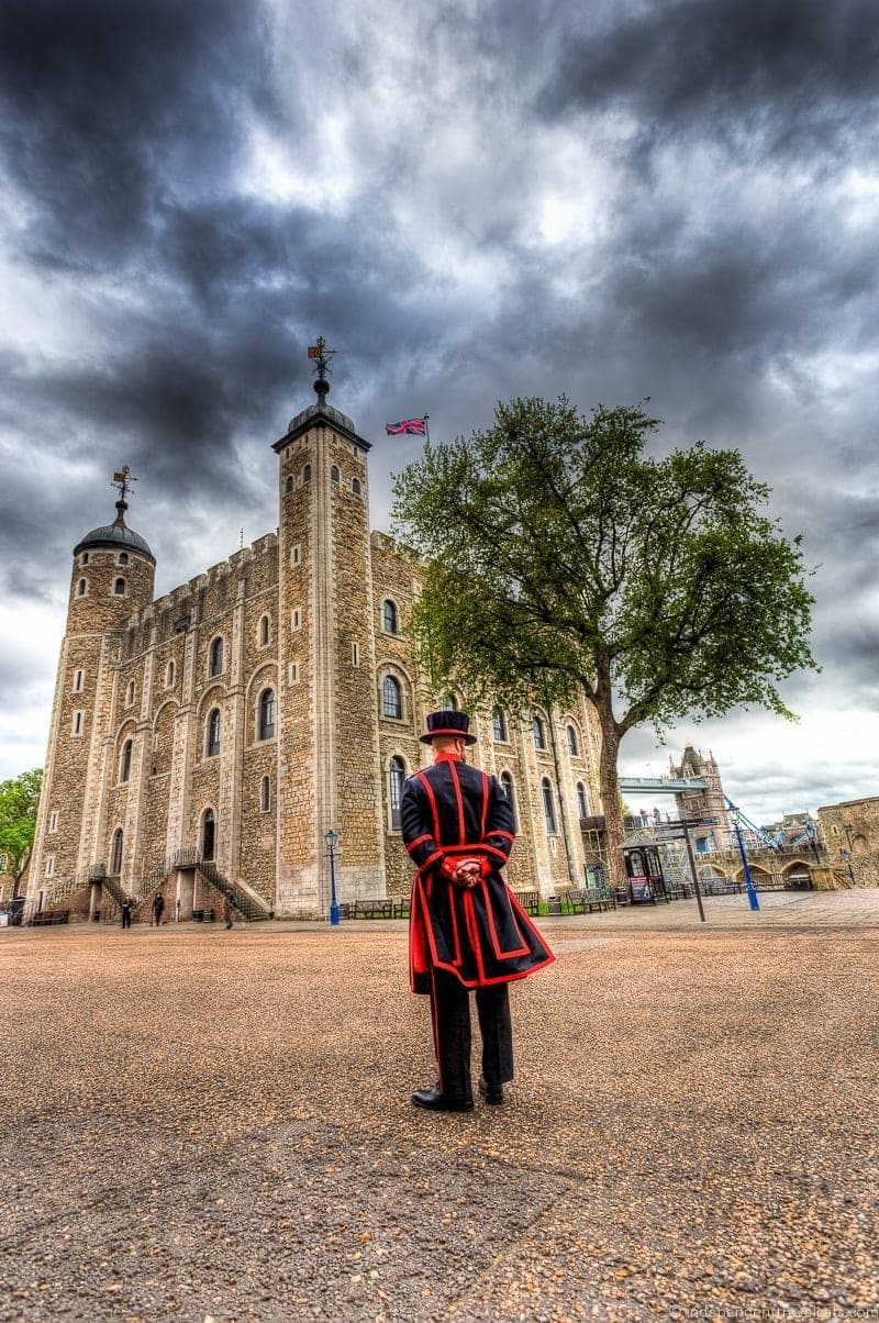 Tower of London 6 days in London itinerary