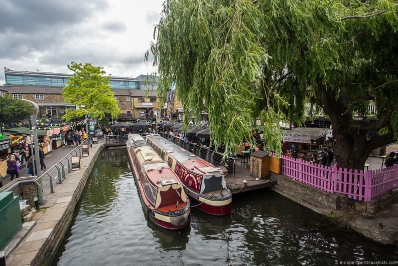 Camden Market 6 days in London itinerary
