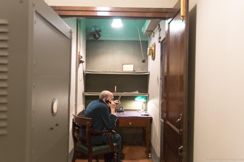Churchill War Rooms 6 days in London itinerary