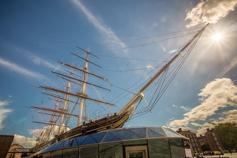 Cutty Sark 6 days in London itinerary