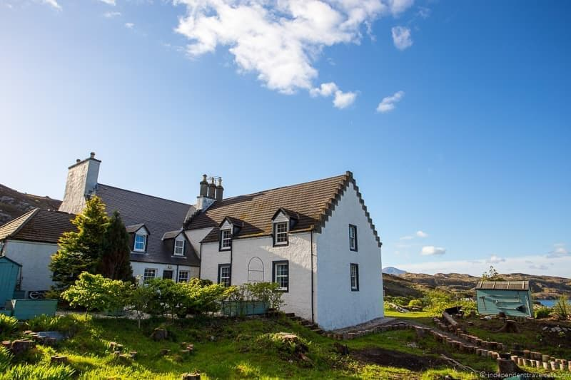 Eddrachilles Hotel North Coast 500 hotels where to stay along NC500 Scotland
