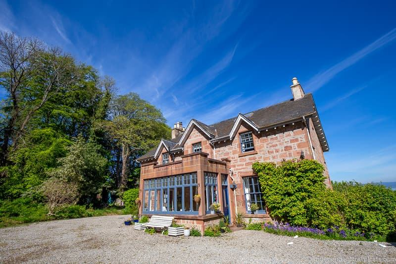 The Factor's House Cromarty Black Isle North Coast 500 hotels where to stay along NC500 Scotland