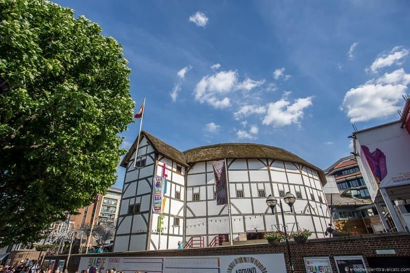Shakespeare's Globe Theater 6 days in London itinerary