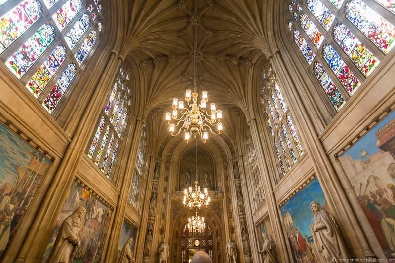 House of Parliament 6 days in London itinerary