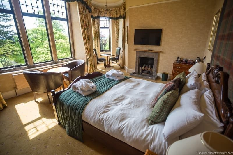Kincraig Castle Hotel North Coast 500 hotels where to stay along NC500 Scotland