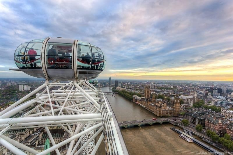 London Eye 6 days in London itinerary