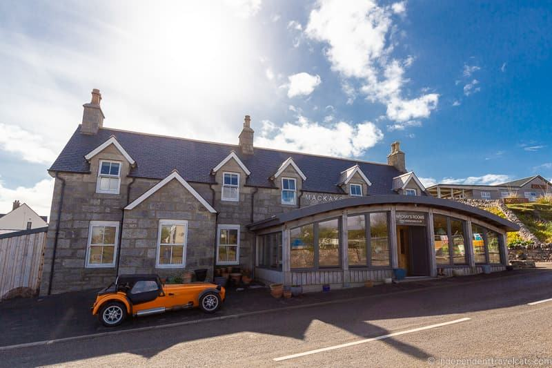 Mackay's Rooms Durness North Coast 500 hotels where to stay along NC500 Scotland