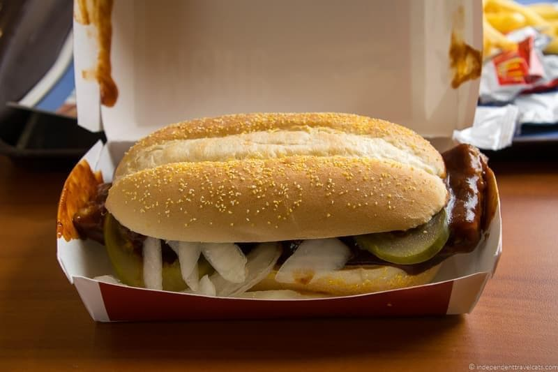 McRib in Germany McDonald's