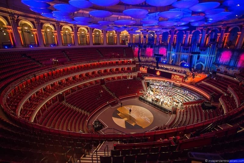 Royal Albert Hall 6 days in London itinerary