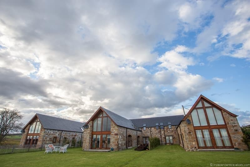 The Steading B&B North Coast 500 hotels where to stay along NC500 Scotland