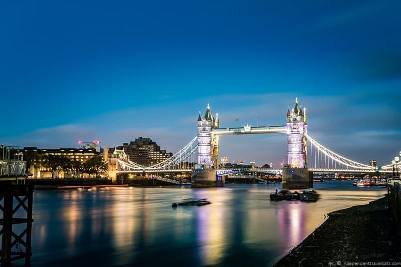 Tower Bridge 6 days in London itinerary