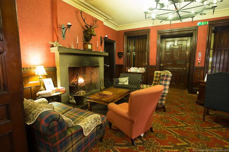 Tulloch Castle Hotel North Coast 500 hotels where to stay along NC500 Scotland