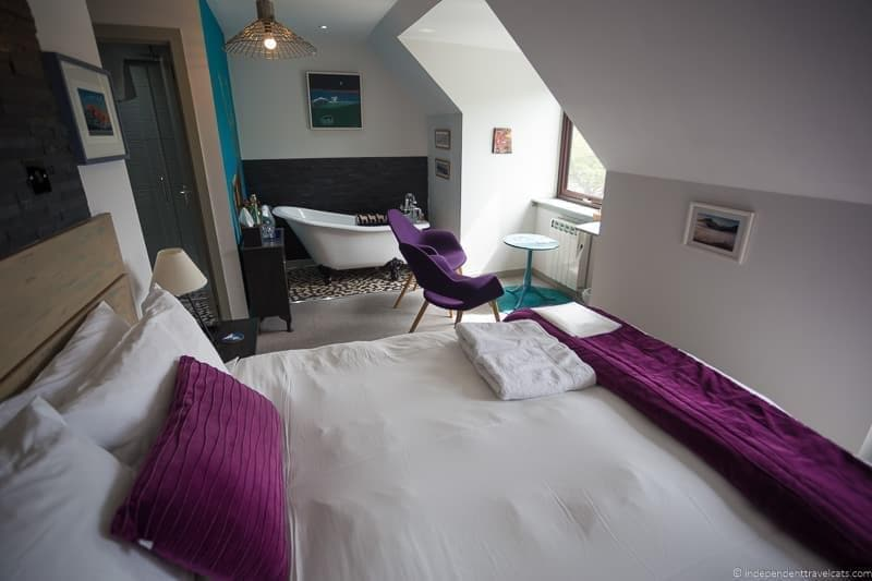 Westlea House North Coast 500 hotels where to stay along NC500 Scotland
