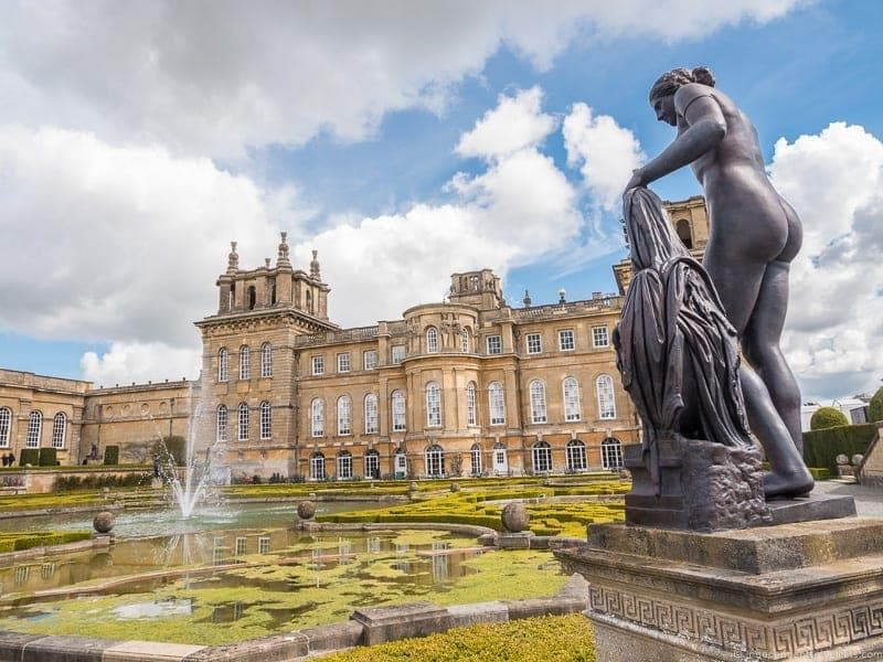 Blenheim Palace top Winston Churchill sites in England